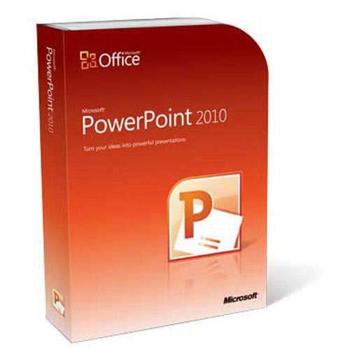 Microsoft Powerpoint 2010 Retail Version
