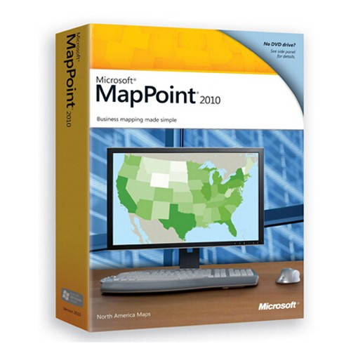 Microsoft MapPoint 2010 North America