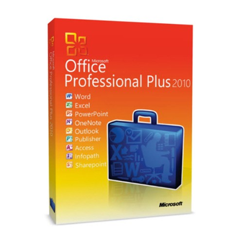 Microsoft Office 2010 Professional Plus Volume Licensed for 5/20/50 PCs
