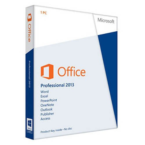 Microsoft Office 2013 Professional Full Retail Version