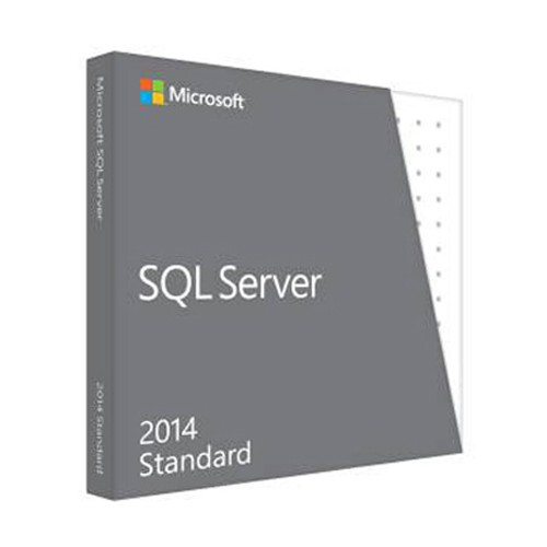 Microsoft SQL Server 2014 Standard Edition with Service Pack 1 w5/10/15/25 CALs