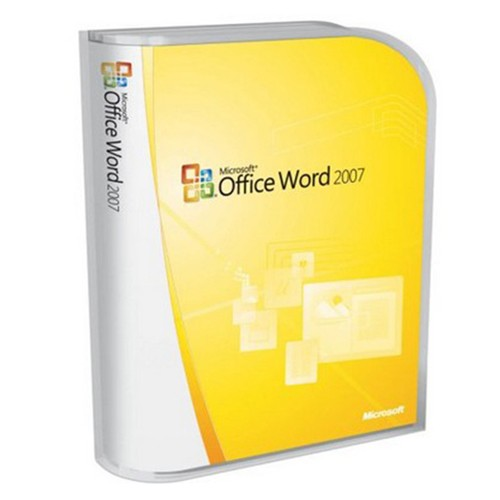 Microsoft Word 2007 Retail Version