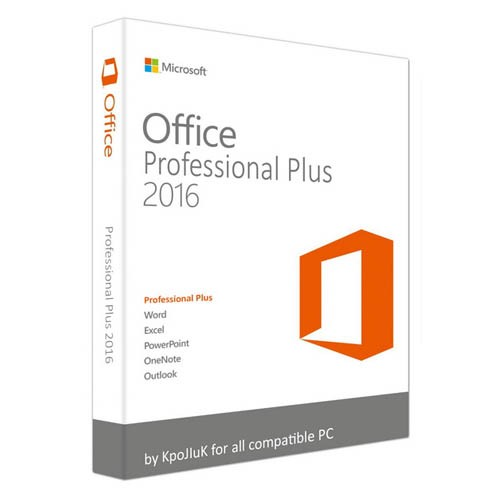Microsoft Office 2016 Professional Plus Volume License for 5/10/20/50 Users