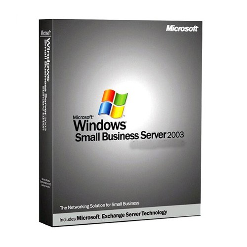 Microsoft Small Business Server 2003 Standard with 5 CALs Retail Box