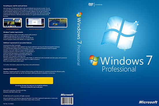 windows 7 pro with sp1