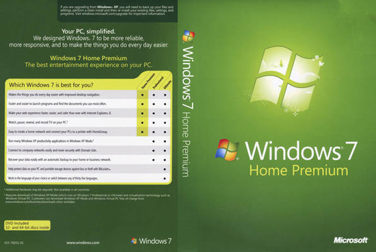 windows 7 home premium 4